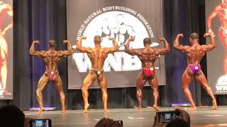 2018 WNBF Worlds Overall - Pro Men Bodybuilding