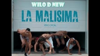 Video Wilo D' New - La Malísima (Video Oficial) download MP3, 3GP, MP4, WEBM, AVI, FLV Juni 2018