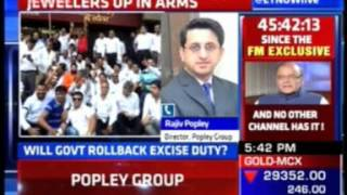 Mr. Rajiv popley, Director Popley Group commenting on the jewelers strike on ET now