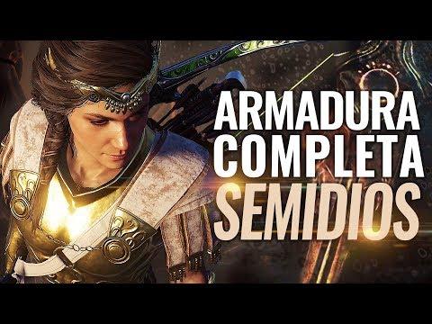 Assassin's Creed Odyssey | Cómo Conseguir la mejor armadura Legendaria SEMIDIÓS (Conjunto Completo) thumbnail