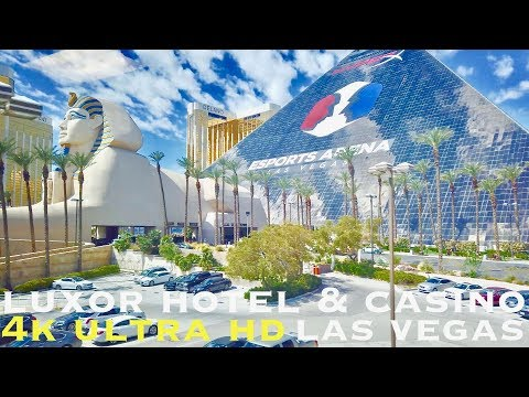 Luxor Hotel Tour - Las Vegas (walking Tour 4k)