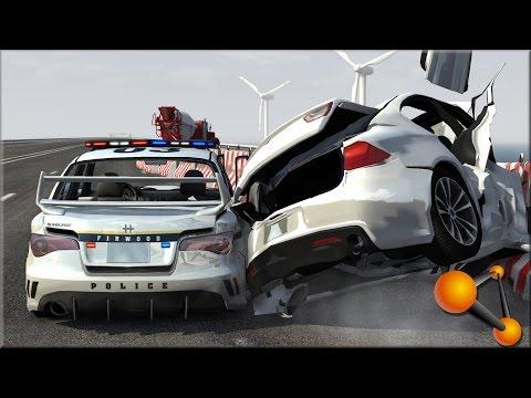 BeamNG Drive Random Vehicle #41 Crash Testing #154