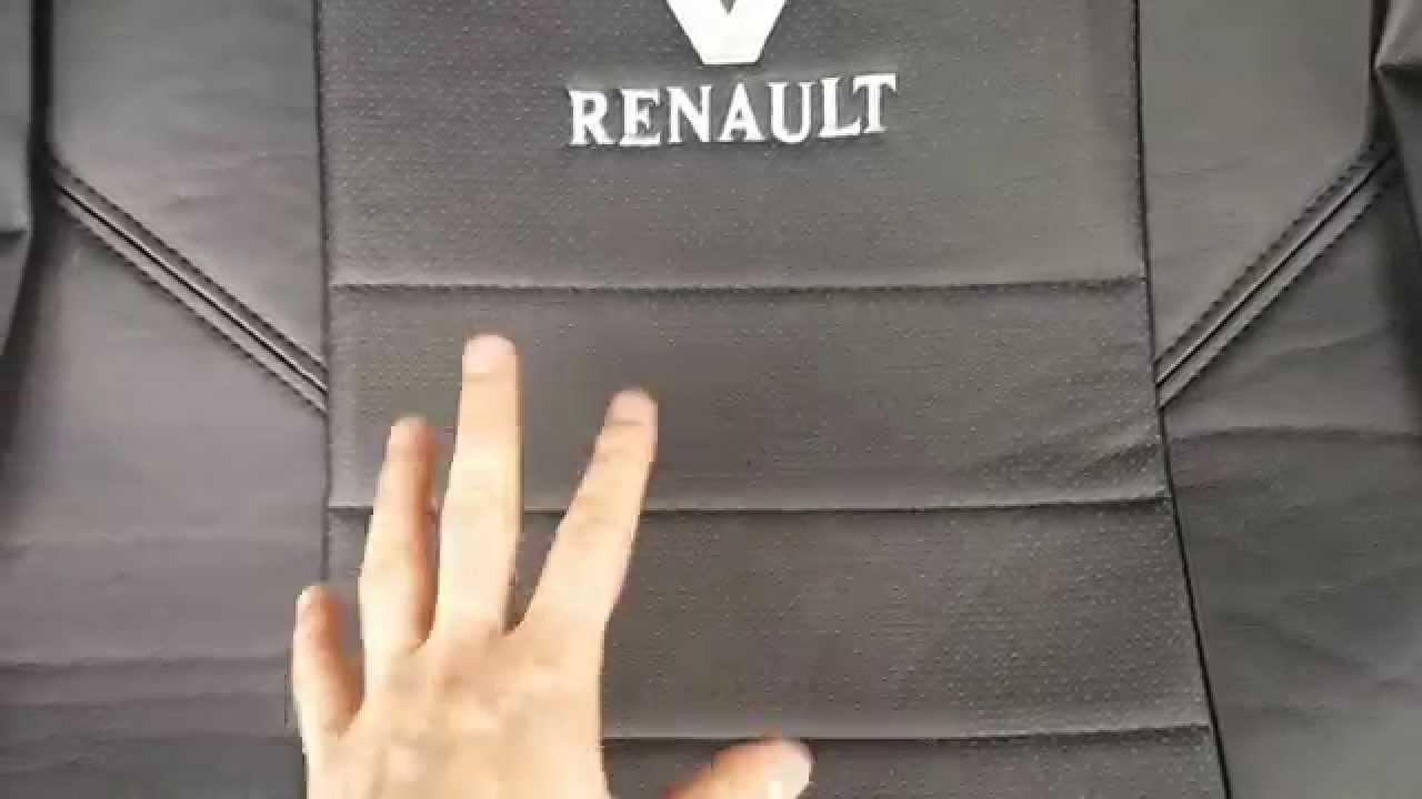 Reno Sandero/Logan - Авточехлы ЭкоКожа - YouTube