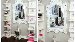 Beauty Room Decor - How I Style My Ikea Lack Shelves - Misslizheart
