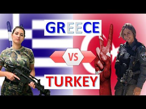 Greece vs Turkey Military Power & Economic Comparison 2020