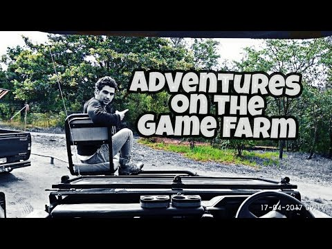 Game Farm | South Africa | Weekend with Fam | vlog 31