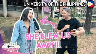 CAN FILIPINO STUDENTS SING?! | UNIVERSITY OF THE PHILIPPINES (UP)