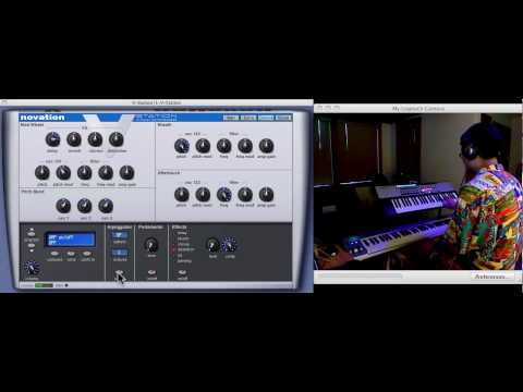 PROJECT PRESET - Novation V-Station