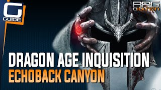 Dragon Age Inquisition - How to get past Locked Gates in Western Approach (Echoback Canyon)