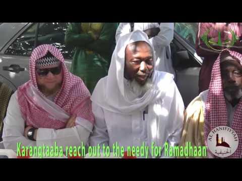 Karangtaaba reach out to the needy people