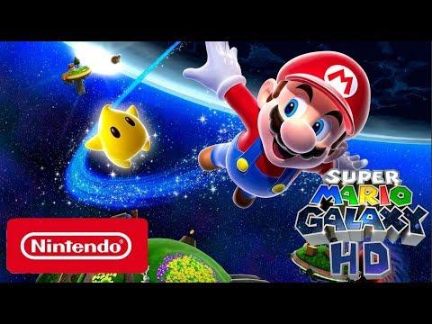 Super Mario Galaxy HD - Official Nintendo Switch Trailer (FAN MADE)