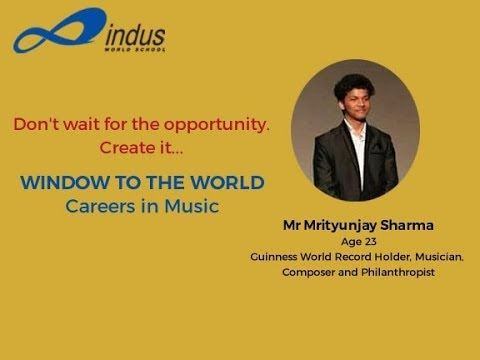 How to Become a Successful Artist   Window to the World Session 4   Musician   Mrityunjay Sharma