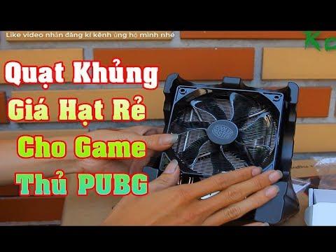 Review Tản Khí Khủng Giá Rẻ T400i cooler Cho PC Game PUBG