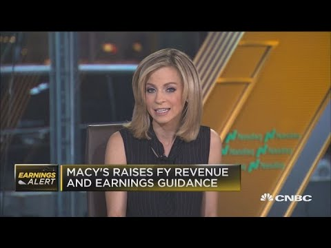Macy's raises FY revenue and earnings guidance