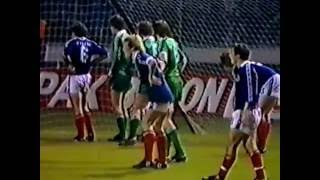 March 25 1981 World Cup Qualifier match, Scotland vs Northern Ireland