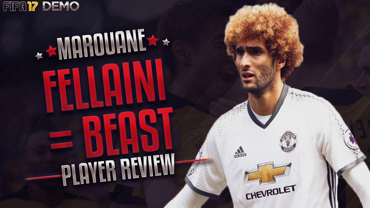 Fellaini Is A Beast Fifa 17 Youtube