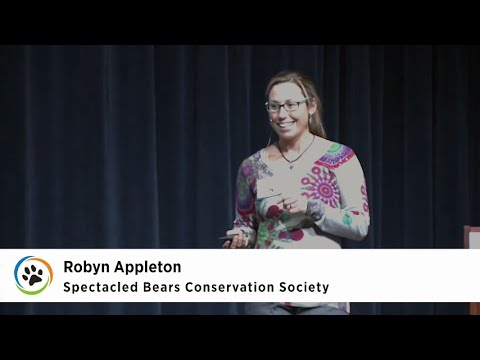 Spectacled Bear Conservation Society · Robyn Appleton · SF Expo 2015