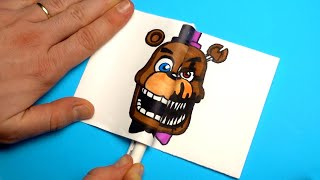 HILARIOUS AND EASY FNaF DIYs TO SURPRISE YOUR FRIENDS