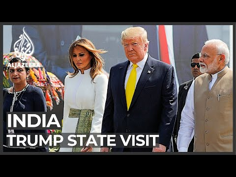Modi Rolls Out Red Carpet For Trump India Visit