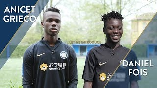 FROM CONGO TO ITALY: LET ME INTRODUCE... ANICET AND DANIEL! | INTER U14 - U13