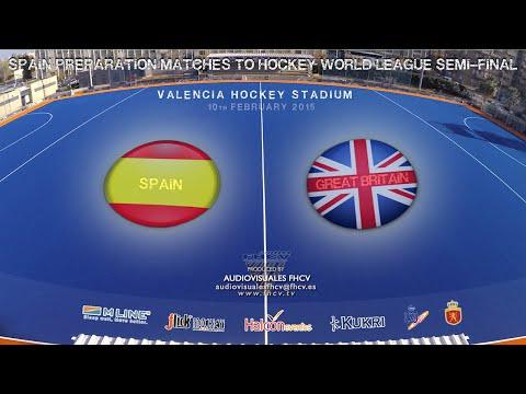 SPAIN Vs GREAT BRITAIN (10 FEB) - Torneo Internacional 4 naciones de Hockey Hierba Valencia