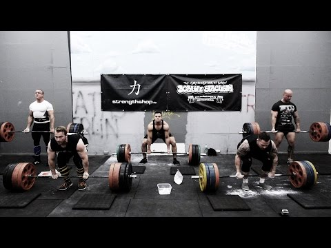 Deadlift Battle - Can U Beat Us? (eng sub)