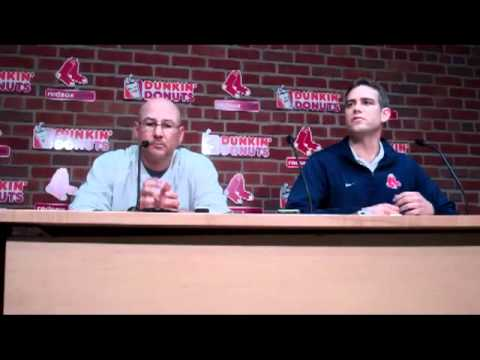 Sept. 29 2011 Theo Epstein and Terry Francona Boston Red Sox.mp4