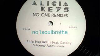 "Alicia Keys ft. Cassidy ""No One"" (Hip Hop Remix)"