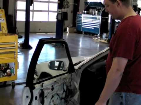 How to fix a broken power window youtube for 2002 honda civic power window not working