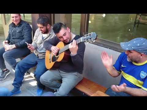 El Araña y Rodrigo Monte. Camping setia #2