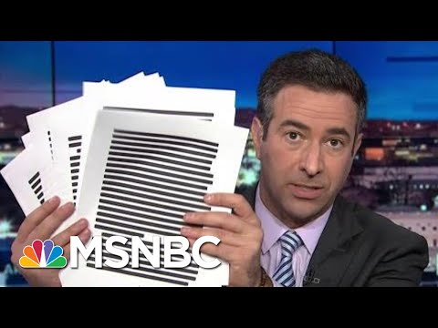 Legal Bombshell: DOJ Investigating 'Bribery-For-Pardon' Scheme | The Beat With Ari Melber | MSNBC