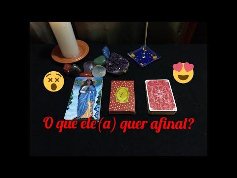 💁O QUE ELE(A) QUER AFINAL??🤔💞 BARALHO CIGANO RESPONDE