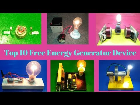 top 10 free energy generator device 100% working new technology new project