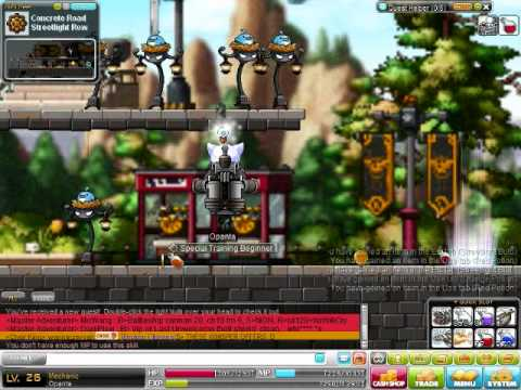 Let's Play MapleStory Day 4 - I am a Hacker.....?