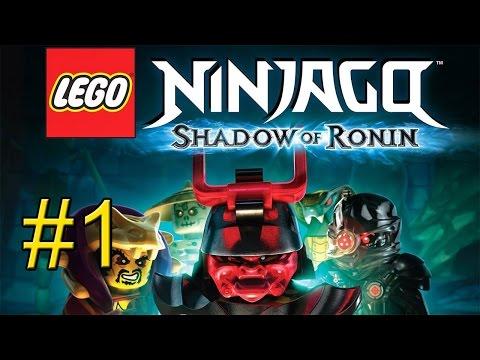 LEGO Ninjago Тень Ронина {PS Vita} часть 1 — Назад в Будущее