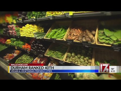 Raleigh, Durham ranked for vegan friendliness