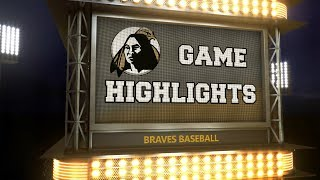 Braves Baseball Highlights: USC Aiken, 3/31 thumbnail