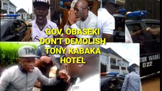 GOV. OBASEKI 4+4 SQUAD MOBILIZED ONE THOUSAND AGBERU'S READY TO DEMOLISH TONY KABAKA HOTEL \u0026 MORE của PEOPLES FREEDOM MOVEMENT #ENOUGH IS ENOUGH# Phát trực tiếp 1 ngày trước 1 giờ và 29 phút 12.527 lượt xem
