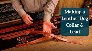 Making a Simple Leather Dog Collar and Lead