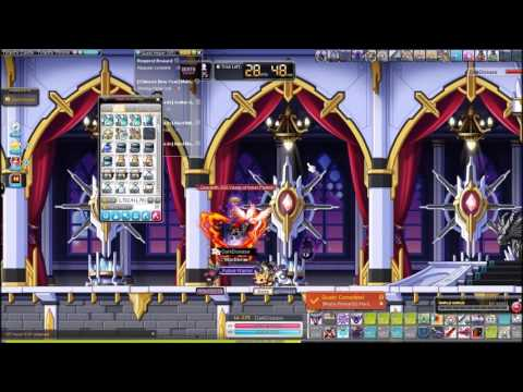 Maplestory GMS Bera Hard Magnus (Double run with Sparkling Black Potion)