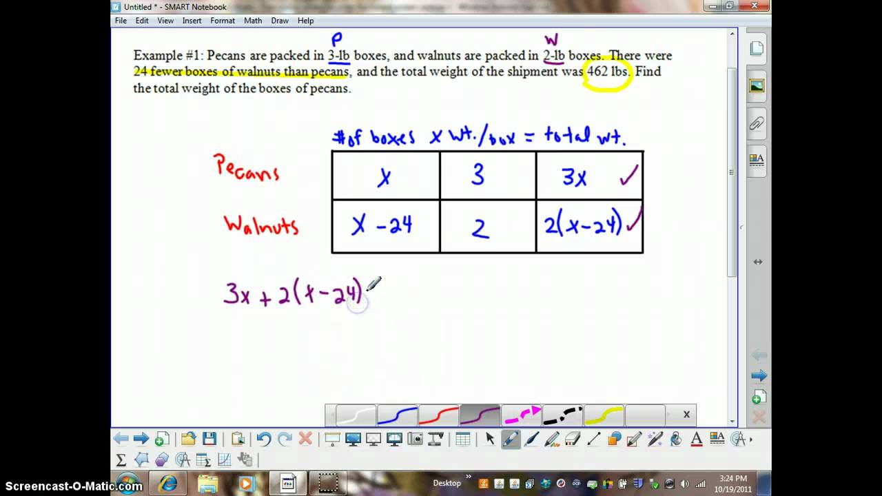 Algebra 1 lesson 36 problem solving using charts youtube algebra 1 lesson 36 problem solving using charts ccuart Gallery
