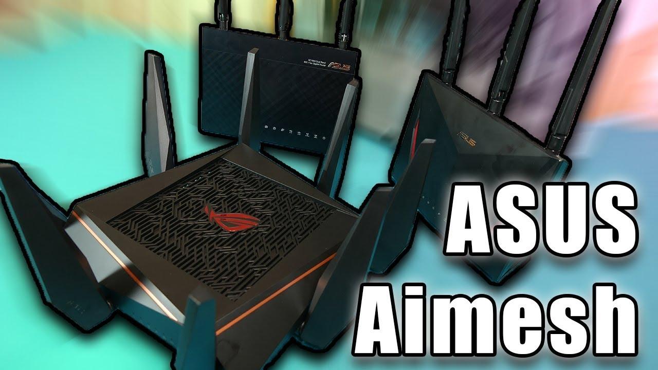 EXPANDE tu red WIFI hasta el INFINITO | ASUS Aimesh
