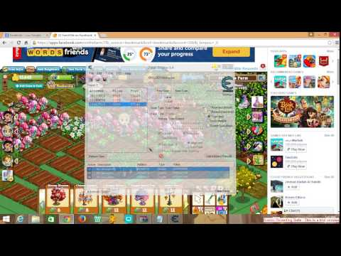 Hack any facebook game