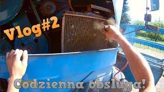 Vlog#2 | Codzienna obsługa kombajnu Bizon SAMPO 2020!