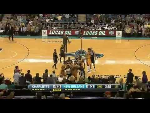 NBA November 9 2012: New Orleans Hornets vs Charlotte Bobcats Highlights