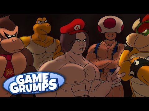 Mario Club – Game Grumps Animated – by Flannelson