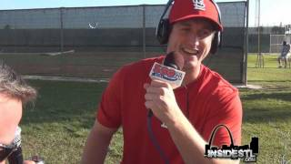Cardinals 3B David Freese on The ITD Morning After at Spring Training 2012