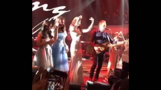 Стинг и Айна на свадьбе Гуцериевых в Москве