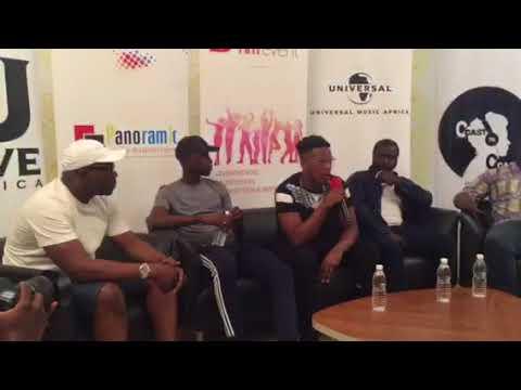 Conférence de Presse Niska (Charo) 18 Février 2018. Universal Music Africa