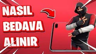 NASIL iKONİK SKİN BEDAVA ALINIR - Tüm Detaylarıyla (Fortnite Türkçe)